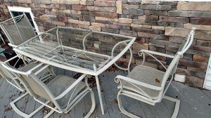 Aluminum patio furniture 15pcs for Sale in Jackson, NJ