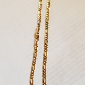 14k Figaro Chain 4mm Jacoje for Sale in Arlington Heights, IL
