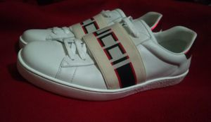 Gucci Ace Jacquard Stripe Leather Sneakers for Sale in Vancouver, WA