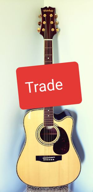 Trade nice acoustic electric for Sale in Mechanicsville, MD