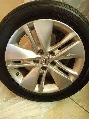 Lexus HS250..... 4 rims and tires for Sale in Fort Pierce, FL