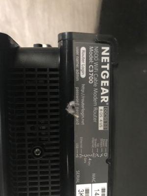 Netgear N600 wifi cabel modem router for Sale in Traverse City, MI