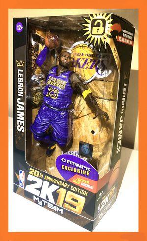 2 Lebron James NBA LA Lakers McFarlane Toys Figure Rare for Sale in Artesia, CA