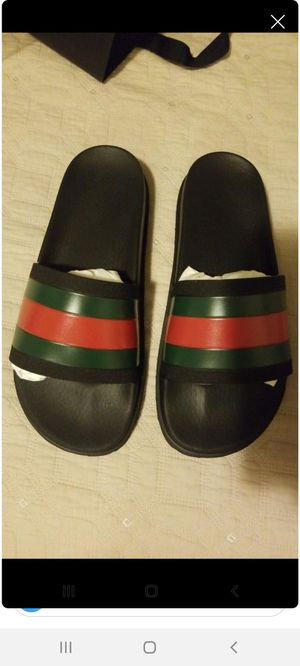 Mens gucci sandals for Sale in Whittier, CA