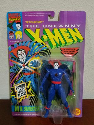 Mr. Sinister The Uncanny X-Men Marvel Comics ToyBiz RARE VINTAGE COLLECTABLE Action Figure for Sale in Thonotosassa, FL