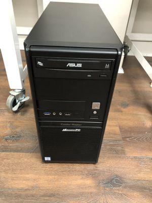 Custom Quad Core i7-7700 Tower 3.6ghz 16gb RAM 128gb SSD 1TB Storage HDMI USB-C Windows 10 Pro for Sale in Gurnee, IL