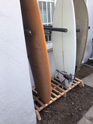 Vertical surf rack for Sale in San Diego, CA