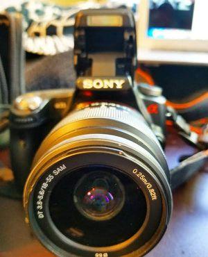 SONY Alpha SLT-A33 Camera bundle for Sale in Hayward, CA
