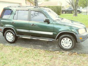 Honda CRV 2001 Low mileage great condition for Sale in Pompano Beach, FL