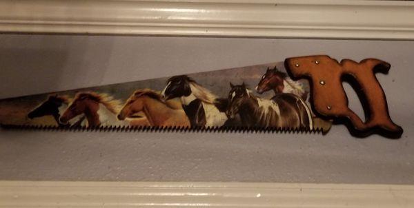 Western decoration horses