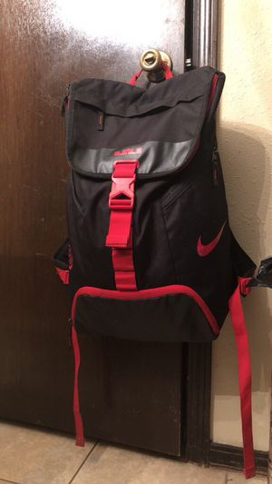 RED AND BLACK LEBRON BACKPACK for Sale in Hope Hull, AL