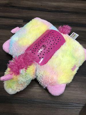 Unicorn Pillow pets lite/ light stuffed animals for Sale in Elk Grove, CA