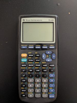 Graphing Calculator TI-83 for Sale in Sumner, WA