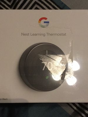 Nest learning thermostat 3 gen for Sale in Valrico, FL