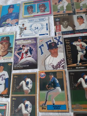 Nolan Ryan Throughout The Years 41 Cards Lot for Sale in Kissimmee, FL