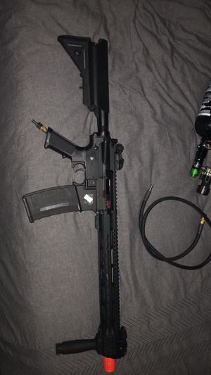 Valken hpa airsoft rifle for Sale in Sandy Spring, MD