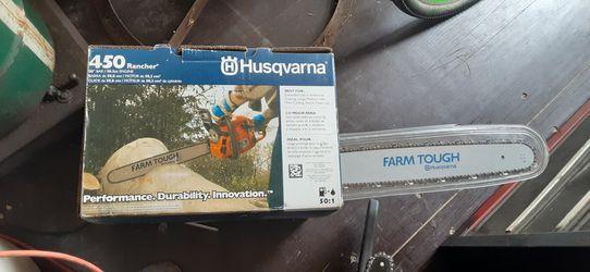 Husqvarna and Poland chainsaws for Sale in Wichita,  KS