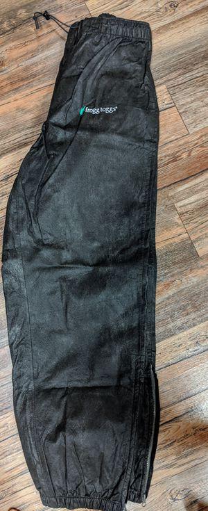 Frog Toggs Waterproof pants - fishing, rain pants MEDIUM for Sale in Monroe, WA