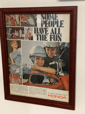 Honda motorcycle ad for Sale in Los Angeles, CA