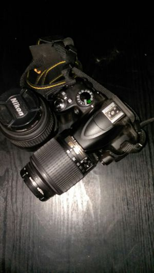 Nikon camera with strap and extra lens for Sale in Ithaca, NY