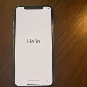 iPhone X (10) 256Gb Silver Unlocked for Sale in Bothell, WA