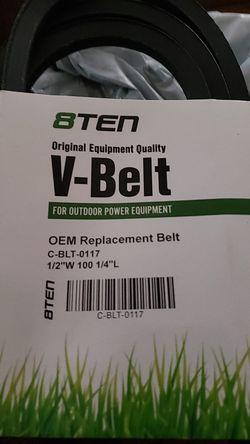 Motor deck belt for Sale in Woodburn,  OR