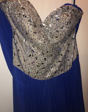 Party dress royal blue for Sale in Hayward, CA