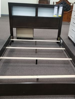 Queen bed frame new in the box for Sale in US