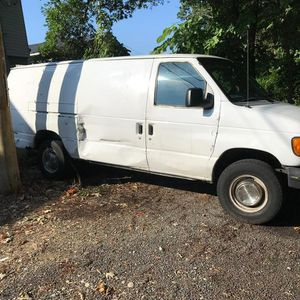 Nice 2003 ford e-350 cargo van with 110,000 for Sale in Suitland, MD