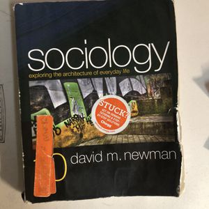 Sociology for Sale in Lake Forest, CA