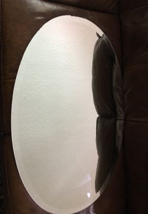 Oval shaped bathroom mirror for Sale in Sanford, FL