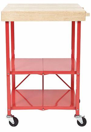 Foldable Kitchen Island Cart for Sale in Wimauma, FL