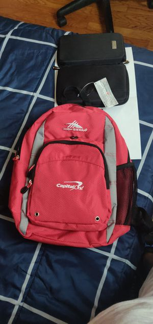 High Sierra Backpack and small bag for Sale in Hyattsville, MD