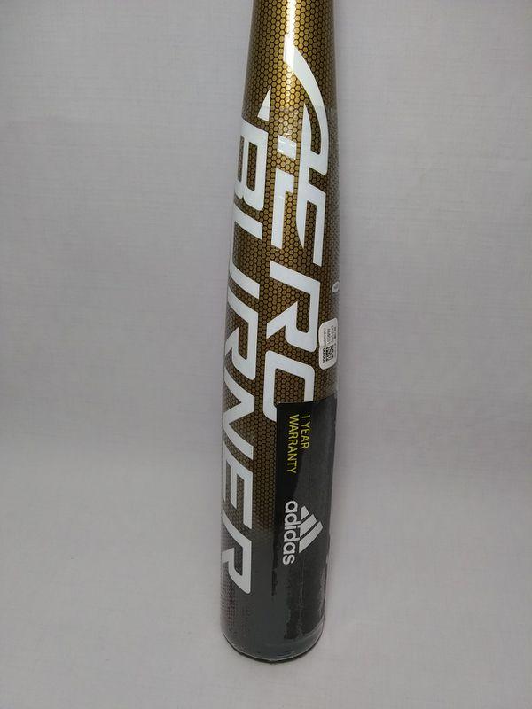 AdidasAeroBurner Alloy BBCORBaseball Bat (-3) 33in 30oz DN7059 New Factory Sealed Plastic.