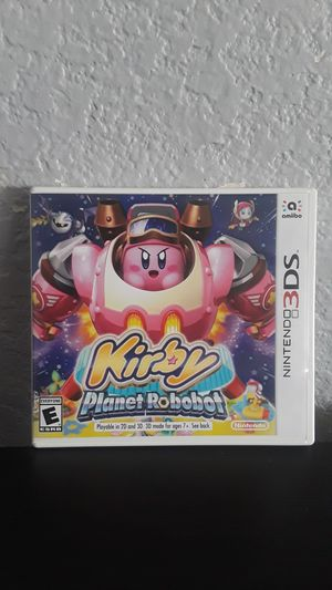 Kirby planet robobot nintendo 3ds for Sale in San Diego, CA
