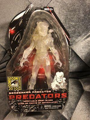 Predators Cloaked Berserker Predator Action figure SDCC Exclusive *NEW* for Sale in Fresno, CA