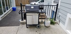Webber bbq and propane tank for Sale in Bethesda, MD