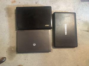 Three different laptops for Sale in Allen Park, MI