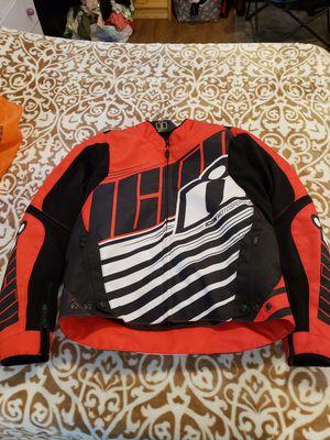 ICON motor bike jacket for Sale in Battle Ground, WA