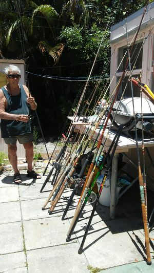 Fishing rods & reels for Sale in Fort Lauderdale, FL