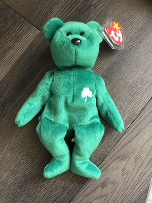 Erin vintage collectible beanie baby for Sale in Culver City, CA