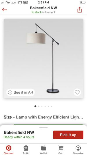 Floor lamp - threshold (new) for Sale in Bakersfield, CA