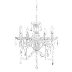 Tadpoles 5-Light White Diamond Chandelier. Brand New! for Sale in Plantation, FL