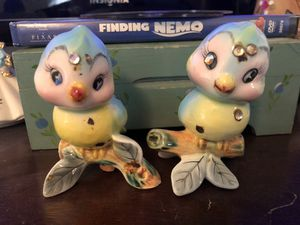 Kitsch bluebirds salt and pepper shakers for Sale in Purcellville, VA
