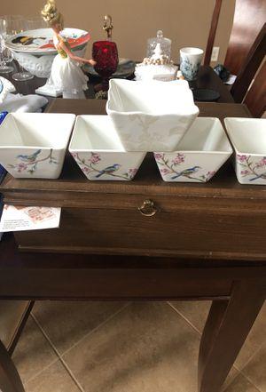 Antique fine china square bowls for Sale in Clovis, CA
