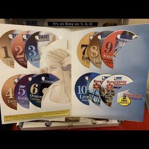 It's as easy as 1, 2, 3! There Are 13 CDs Provida SMART TECHNIQUE Automatic Fat Weight Loss Program Book CD Set Workbooks for Sale in Aliso Viejo, CA