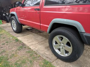 Jeep wheels and tires 5 for Sale in Takoma Park, MD