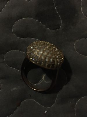 Woman's ring gold and bonded doesn't fade at all for Sale in Boston, MA