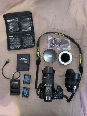 Nikon D3500 DSLR camera with many accessories, 50mm 1.8, ND filter & extras for Sale in Brooklyn, NY