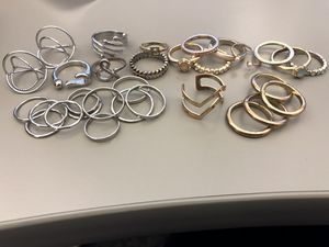 Rings all sizes and colors for Sale in Phoenix, AZ